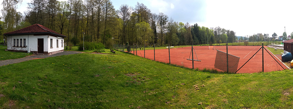 Tennisplatz Panorama